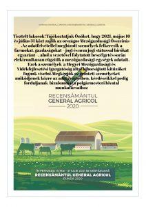 Anunt privind recensamantul agricol 2020